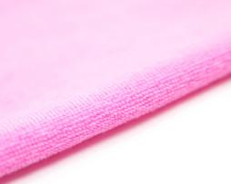 Розовая махровая ткань оптом