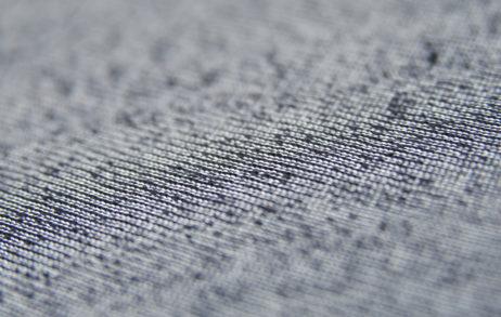 Темно-синяя махровая ткань оптом