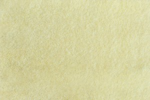 "Желтая махровая ткань ""Лимон"""
