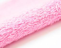 Махровая ткань розового цвета оптом
