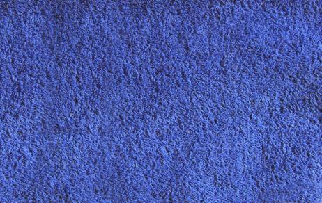 синяя махровая ткань