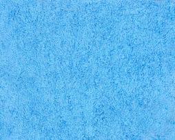 голубая махровая ткань