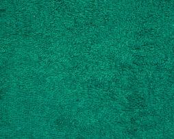 зеленая махровая ткань